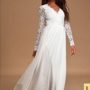 Lulu's Bridal Dress